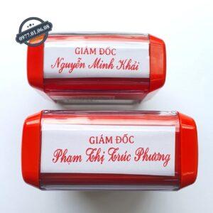 Khắc con dấu chức danh lấy liền giá rẻ số 1 năm 2021 ở Hồ Chí Minh