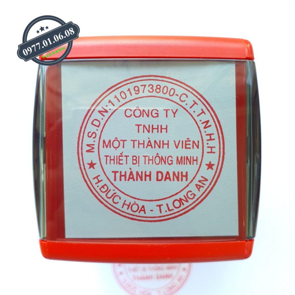 Khắc con dấu tên công ty, khắc dấu tên doanh nghiệp lấy liền giá rẻ số 1 năm 2021 ở Hồ Chí Minh