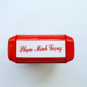 khắc dấu tên cá nhân- chữ ký cá nhân giá rẻ uy tín lấy liền - Khắc Dấu Lấy Ngay Uy Tín Giá Rẻ Hồ Chí Minh