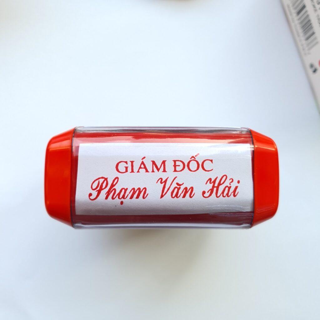 khắc dấu tên chức danh giám đốc uy tín lấy liền - Khắc Dấu Lấy Ngay Uy Tín Giá Rẻ Hồ Chí Minh