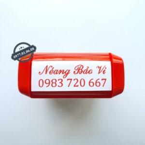 Dịch vụ khắc dấu tên kèm số điện thoại lấy liền giá rẻ nhất Hồ chí minh, hà nội và trên toàn quốc