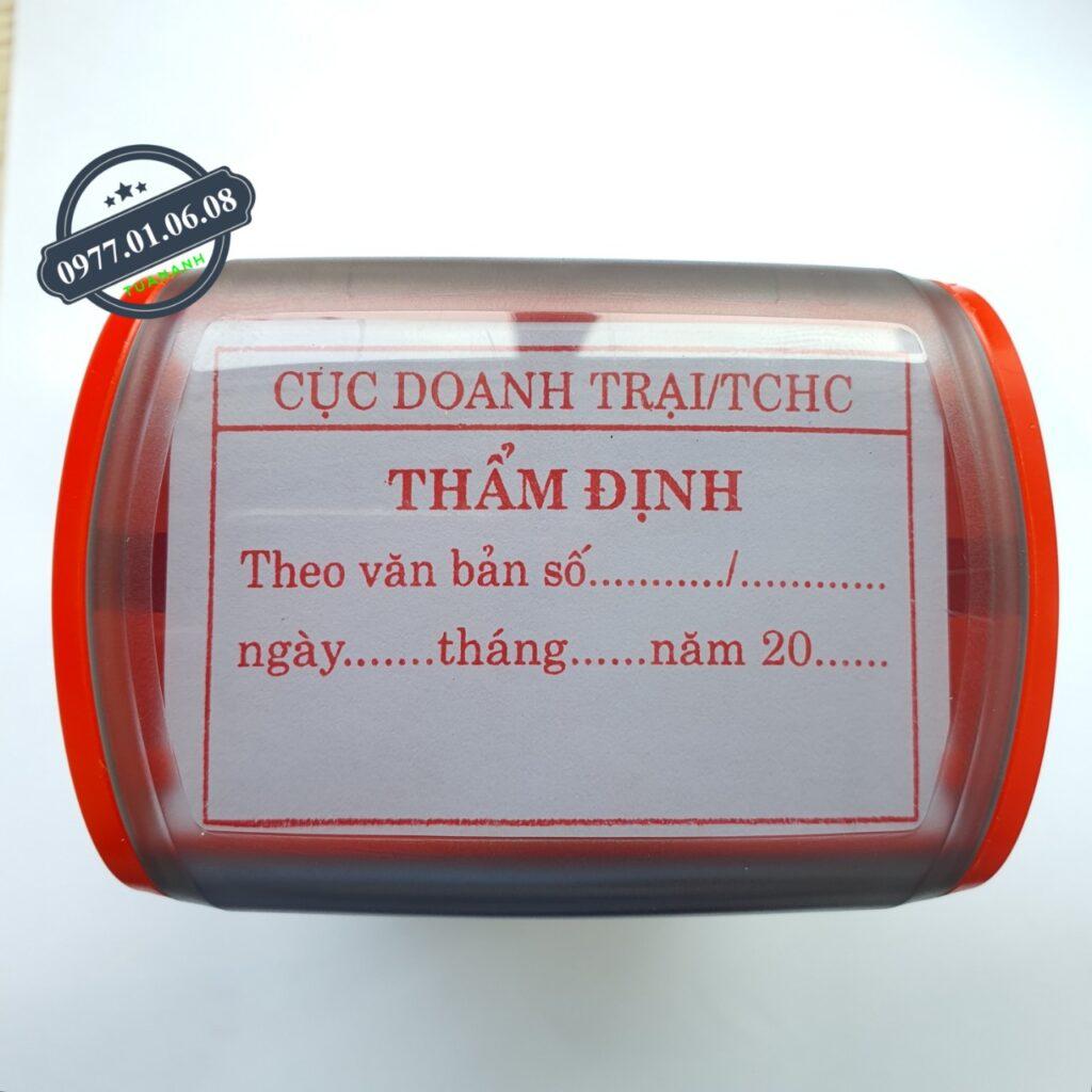 Khắc con dấu thẩm định cho công ty, doanh nghiệp lấy liền giá rẻ số 1 năm 2021 ở Hồ Chí Minh