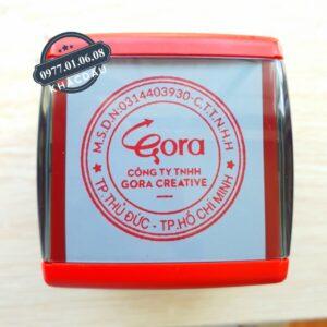 Khắc dấu tròn có logo công ty giá rẻ số 1 năm 2021 ở Hồ Chí Minh