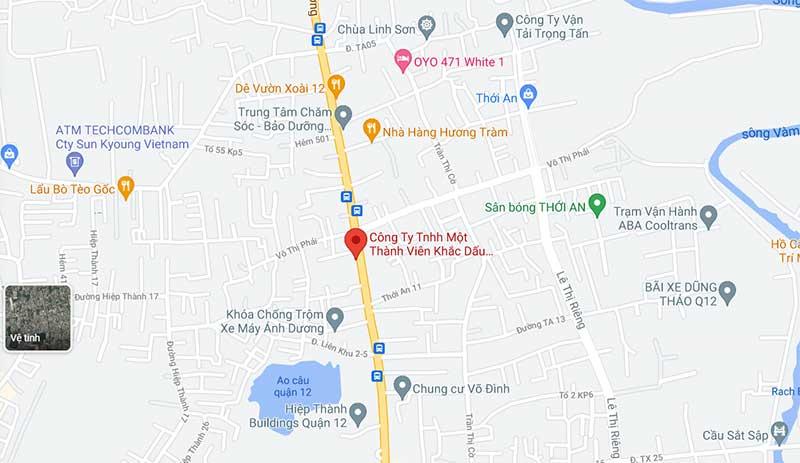 Công ty TNHH Khắc dấu tuấn anh trên google map